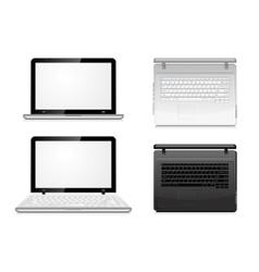 modern laptop vector image vector image