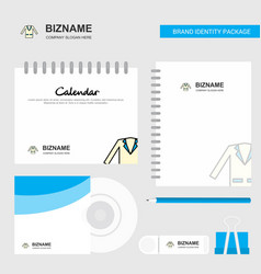 coat logo calendar template cd cover diary and vector image