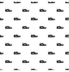Golf shoe pattern vector