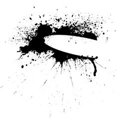 Ink banner vector image