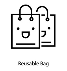 Resealable bag vector