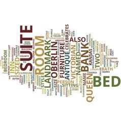 The landmark inn text background word cloud vector
