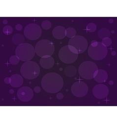 with bokeh effect in purple tones vector image vector image