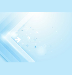 Abstract arrows technology concept background vector