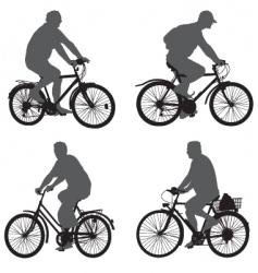Bicycle rider vector