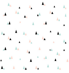 cute seamless pattern minimal scandinavian vector image