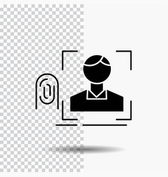 finger fingerprint recognition scan scanning vector image