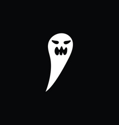 ghost icons vector image
