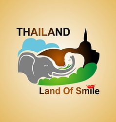 Land Of Smile vector image