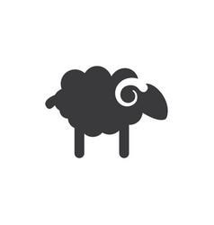 sheep icon vector image