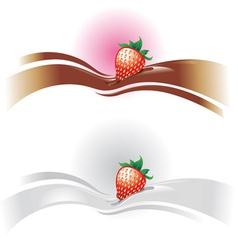 strawberrywave vector image