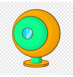 Webcam icon cartoon style vector