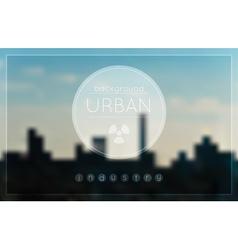 Blur urban Industrial factory background vector