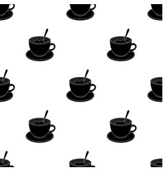 coffee cup americanodifferent types of coffee vector image