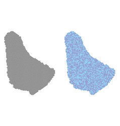 Dot barbados map abstractions vector