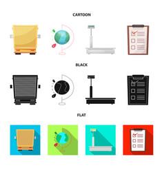 Goods and cargo symbol vector