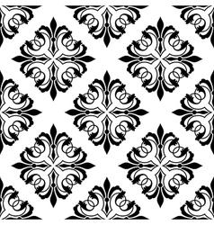 Ornamental arabesque seamless vector