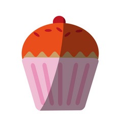 pastry icon image vector image
