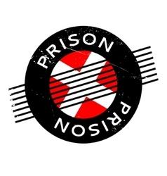 Prison rubber stamp vector