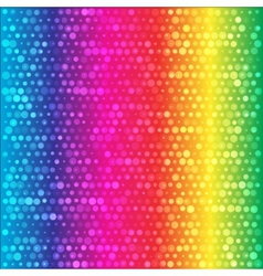 Spectrum rainbow circles colorful background vector