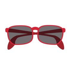 stylish sunglasses icon image vector image