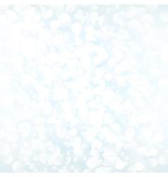 White bokeh background vector image