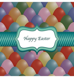 easter wrapping vector image vector image
