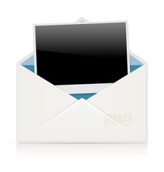 envelope photo vector image vector image