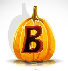 Halloween Pumpkin B vector image
