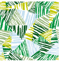 abstract floral seamless pattern tropical leaves vector image