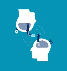 Business communication concept business vector