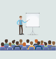 business people meeting in conference room vector image