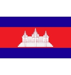 Cambodia flag image vector