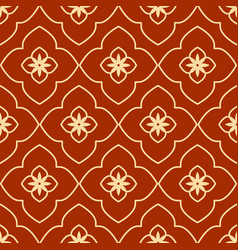 Geometric islamic seamless pattern vector