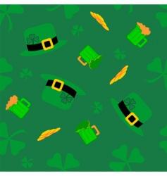 Saint Patrick's pattern vector image