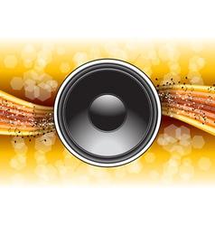 speaker background vector image