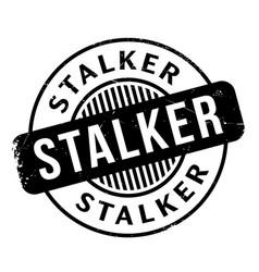Stalker rubber stamp vector