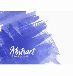Stylish artistic watercolor background or backdrop vector