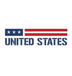 United States symbol vector image
