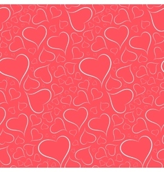 Romantic bright background with a white outline vector image vector image
