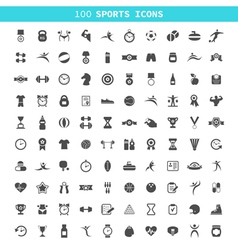 Sports an icon vector image