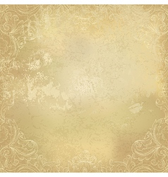 aged background paper ornamental vector image vector image