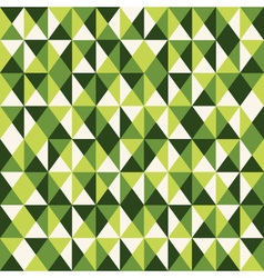 pattern low poly green vector image vector image