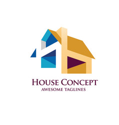 house design concept vector image vector image
