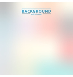 Elegant blur color simple design eps vector image