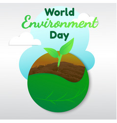 environment tree vector image