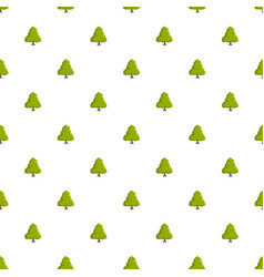 linden tree pattern seamless vector image