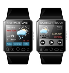 Smart-watch vector image