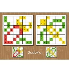 Sudoku middle level set vector