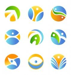 Symbol design element vector
